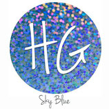 "HoloGraphic Sky Blue  HTV - 12"" x 20"" Sheet"