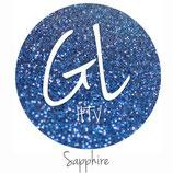 """Glitter HTV - Saphire Blue  20"""" x 12""""  - Sheet"""