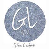 """Glitter HTV - Silver Confetti  20"""" x 12""""  - Sheet"""