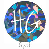 "HoloGraphic Crystal  HTV - 12"" x 20"" Sheet"