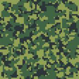 "Pattern HTV - Green Digital - 15"" x 12"" Sheet"