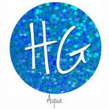 "HoloGraphic Aqua  HTV - 12"" x 20"" Sheet"