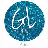 """Glitter HTV - Aqua  20"""" x 12""""  - Sheet"""