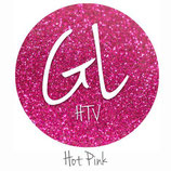 "Glitter HTV - Hot Pink  20"" x 12""  - Sheet"