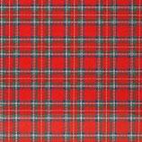 """Pattern HTV - Red Tartan - 12"""" x 15"""" Sheet"""