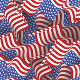"Pattern HTV - American Flags - 12"" x 15"" Sheet"