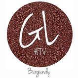 "Glitter HTV - Burgundy  20"" x 12""  - Sheet"