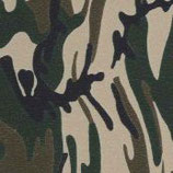 "Pattern HTV - Army Camouflage - 12"" x 15"" Sheet"