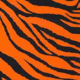 "Pattern HTV - Zebra Fluorescent Orange - 12"" x 15"" Sheet"