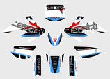 Pitbike Design in verschiedenen Farben für IMR oder MRF