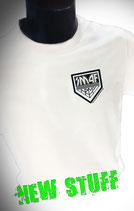 Teamshirt Herren Weiß mit kleinem KISS Army Style Limitierte Auflage