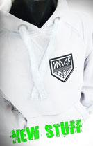 Hoodie Weiß mit kleinem KISS Army Style Limitierte Auflage