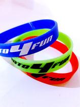 Silikon Armbänder 3er Set