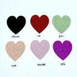 """Glittersticker """"Heart"""" large"""
