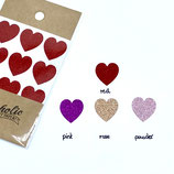 "Glitzersticker ""Heart"""