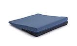 Witschi - Keil-Sitzkissen eckig  -  marineblau