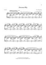 """Klaviernoten - Titel: """"Einsamer Weg"""""""