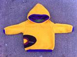 Polarfleecepulli Gelb