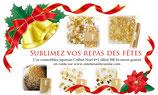 Coffret Noel d'or comestible (paillette, flocon, 2 motifs et 1 sachet poudre offert)