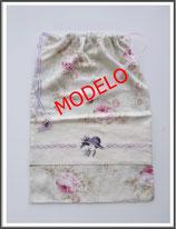 Bolsas de ropa bordadas, apliques
