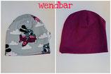 Wendebeanie Jersey/Sweat