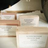 Natürliche Duschseife - statt chemisches Duschgel