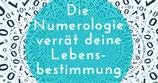Numerologische Analyse  - Handbuch