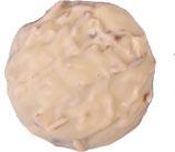 Mandelsplitterlebkuchen weiß
