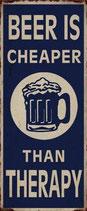 """Schild """"Beer"""""""