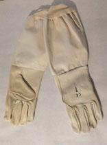 Handschuhe Rindleder beige