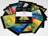 16 Kunstpostkarten