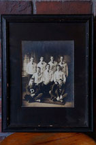1918's HIGH SCHOOL FOOTBALL OLD PHOTO FRAME