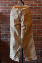 1940's US ARMY METAL BUTTON CHINO