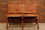 1920's WOODEN FOLDING BENCH