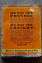 1929's SEARS,ROEBUCK AND CO. CATALOG