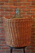 1900's FRENCH WINE BASKET BOTTLE