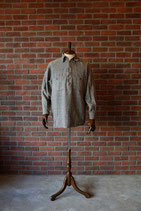 1940's PILGRIM TIN STRAP ZIP SHIRTS