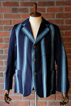 1930's~40's VINTAGE COLLEGE SCHOOL STRIPED BLAZER