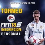 Inscripción personal torneo FIFA 18