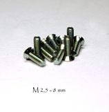 Schrauben M 2,5
