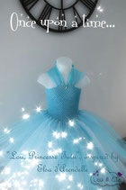 My little tutu like Elsa de La Reine des Neiges