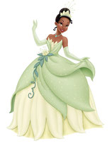 My little tutu like Tiana
