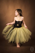 Robe tutu Princesse Stella Black and Gold