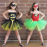 My little tutu like Batman et Robin