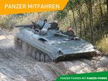 3 Runden Mitfahren BMP-1 Panzer Erlebnisgutschein