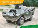 3 Runden Mitfahren SPW-40 Panzer Erlebnisgutschein