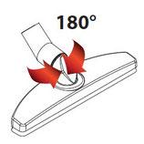 Art. 7047.9 Bodenbürste mit Gelenk 180° cm 30