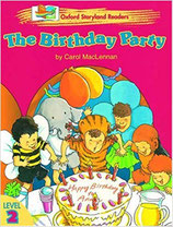 THE BIRTHDAY PARTY by Carol MacLennan.  OXFORD STORYLAND READERS. Level 2