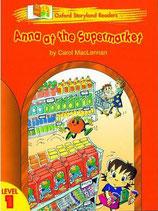 ANNA AT THE SUPERMARKET by Carol MacLennan.  OXFORD STORYLAND READERS. Level 1