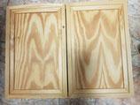 Tapa contador madera dos hojas para decorar o pintar